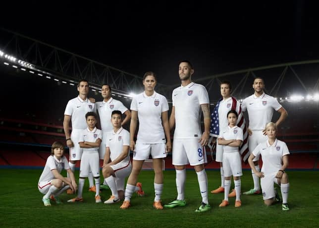 US Men's National Team jersey for 2014 World Cup