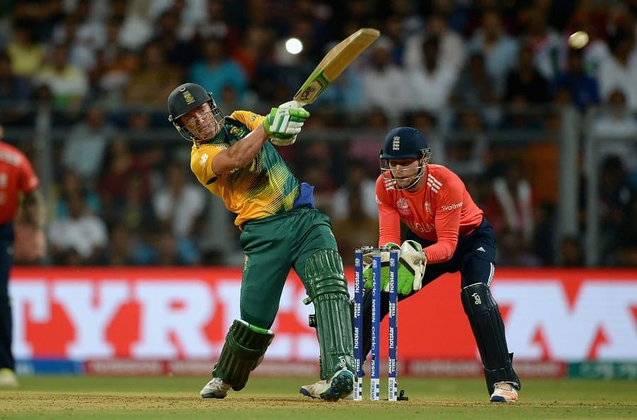 AB de Villiers powers South Africa to the Semi Finals