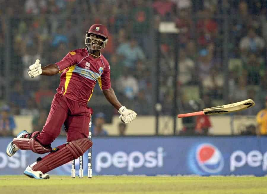 Sammy puts West Indies on the doors of Semi Final