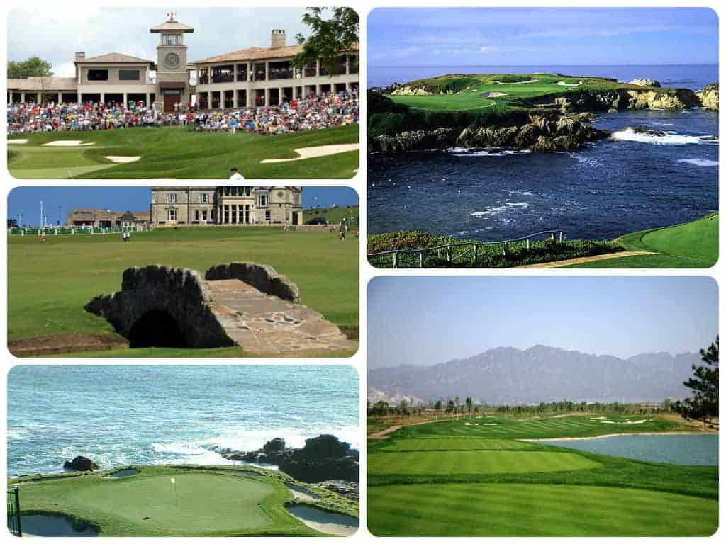 TOP 5 Golf Course of the world
