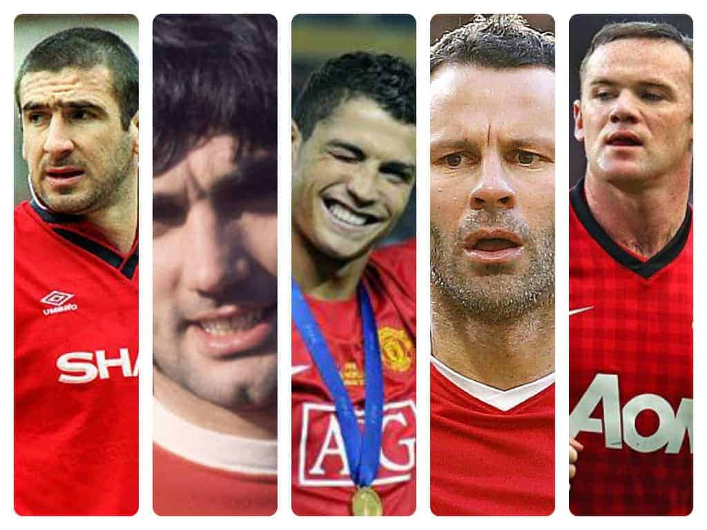 Top 5 Manchester United players ever