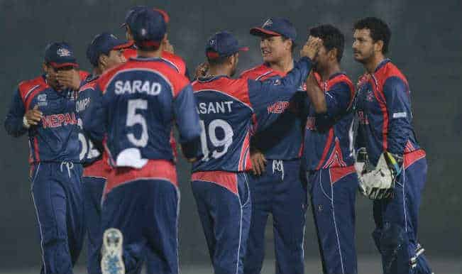 Nepal stuns Afghanistan but bows out of the tournament