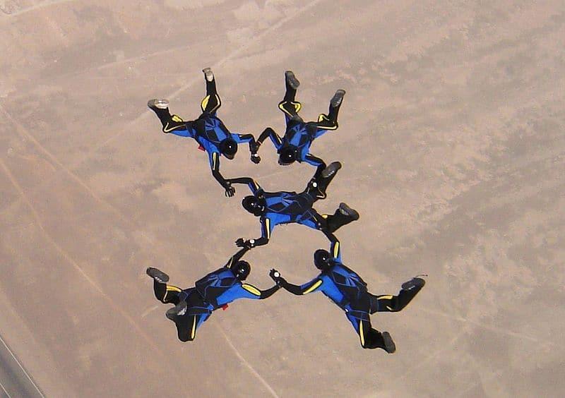 Want to know Various style of Skydiving ?