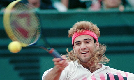 3. Andre Agassi