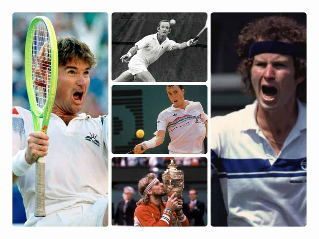 Best Famous Tennis Players Male Of All Time