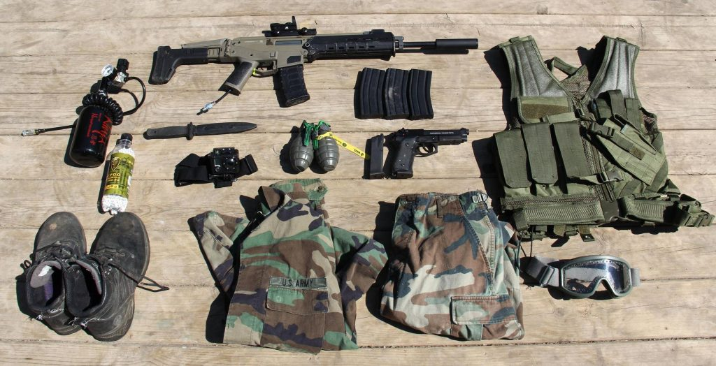 All about Airsoft Equipments