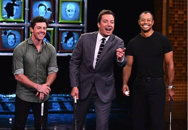 Tiger and Mcllory to appear together on The Tonight Show