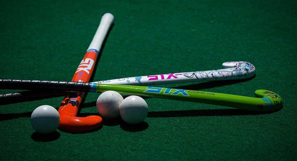Details of equipments used in Field Hockey