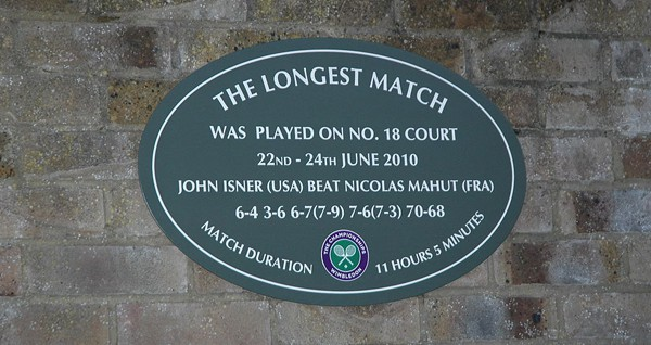 The Longest Tennis Match Ever in the History