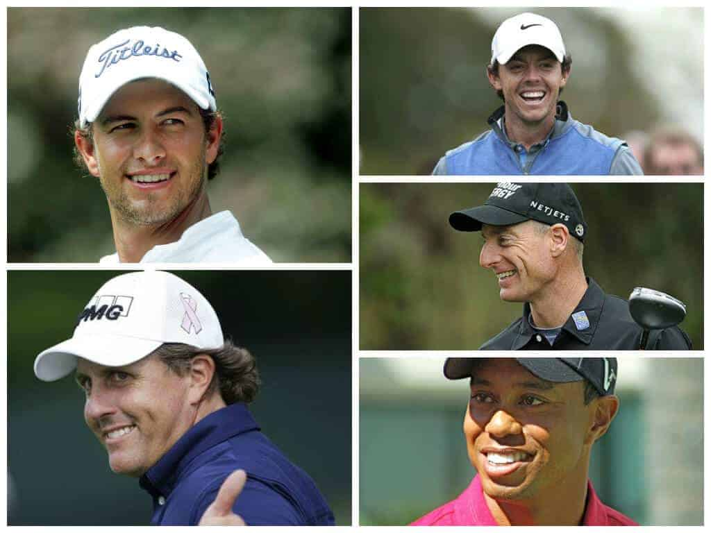 5 Most Loved Golfers of the World Today