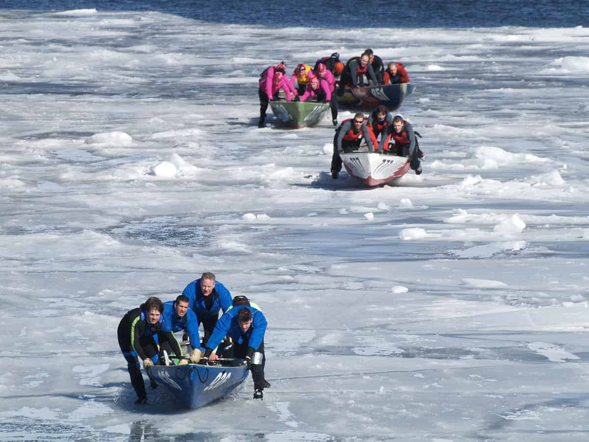 All you want to know about Ice Canoeing