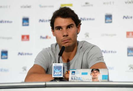 Nadal's Hide and Seek Game with ATP World Tour Finals