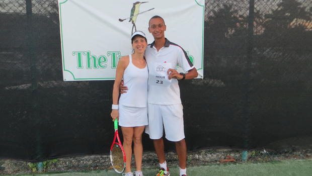 A Man from Jamaica Played Tennis for 24 Hours