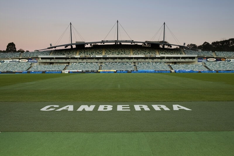 All about Canberra Stadium