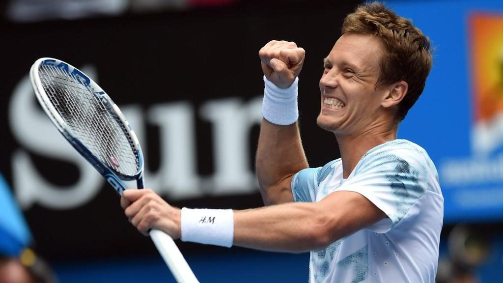 Tomas Berdych is Looking Forward to 2015 with a New Team