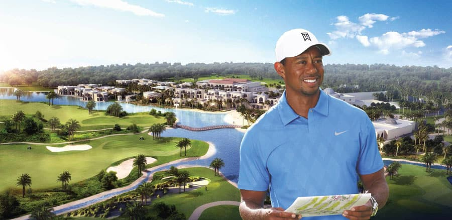 Tiger Woods to Design New Golf Course in Dubai