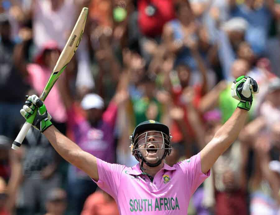Stats highlights from AB de Villiers unbelievable world record - A 31 ball ODI ton!