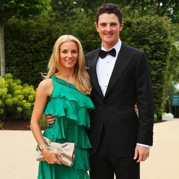 Justin Rose and Kate Phillips