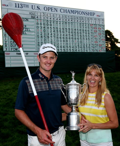 Justin and Kate US Open Championship