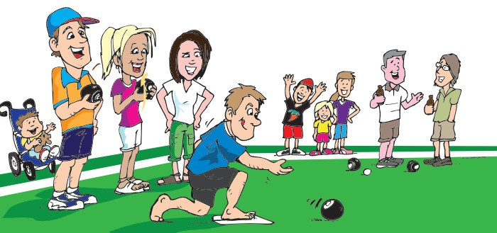A Different Game Called Lawn Bowls