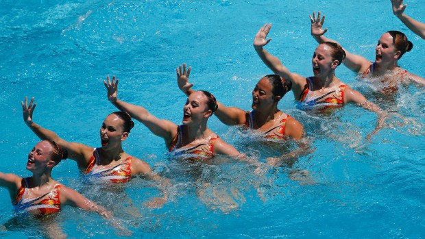 Basic Skills required for Synchronized Swimming