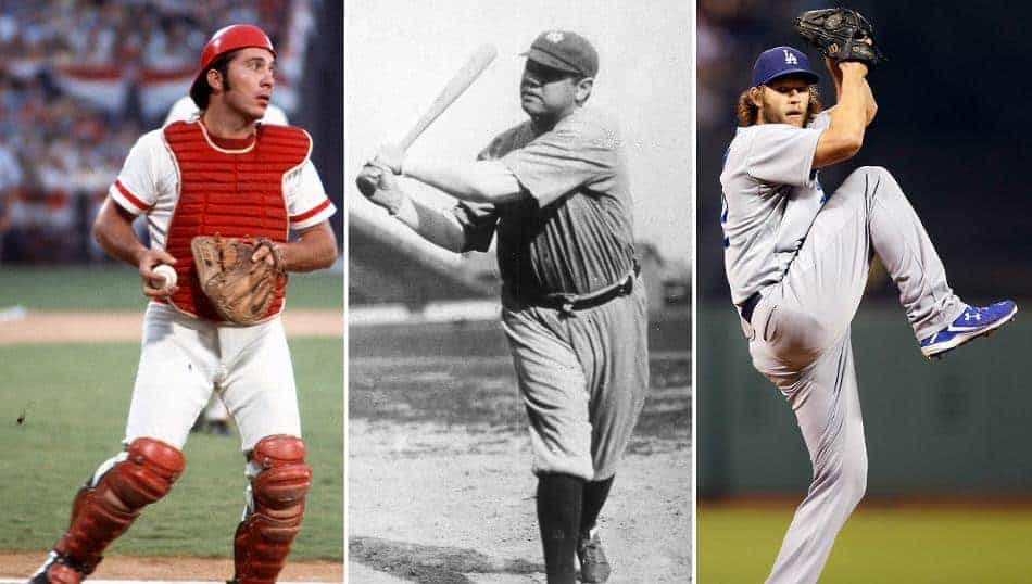 The Greatest MLB Players Ever