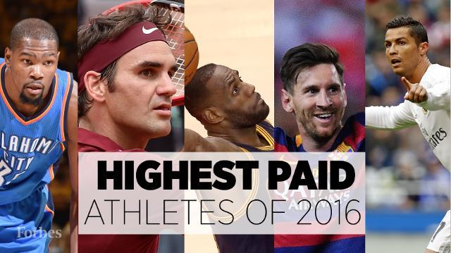 The Highest Earning Athletes of the World