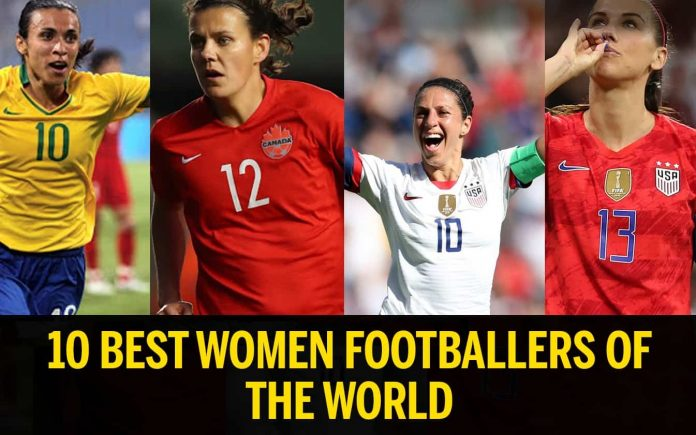 Best Woment Footballers in the world